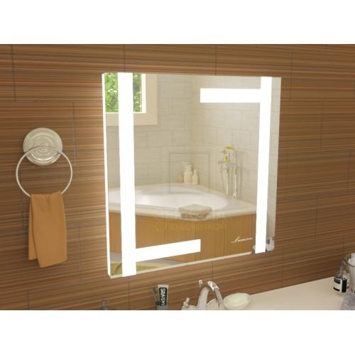 Зеркало в ванную Витербо 40x40 см с подсветкой